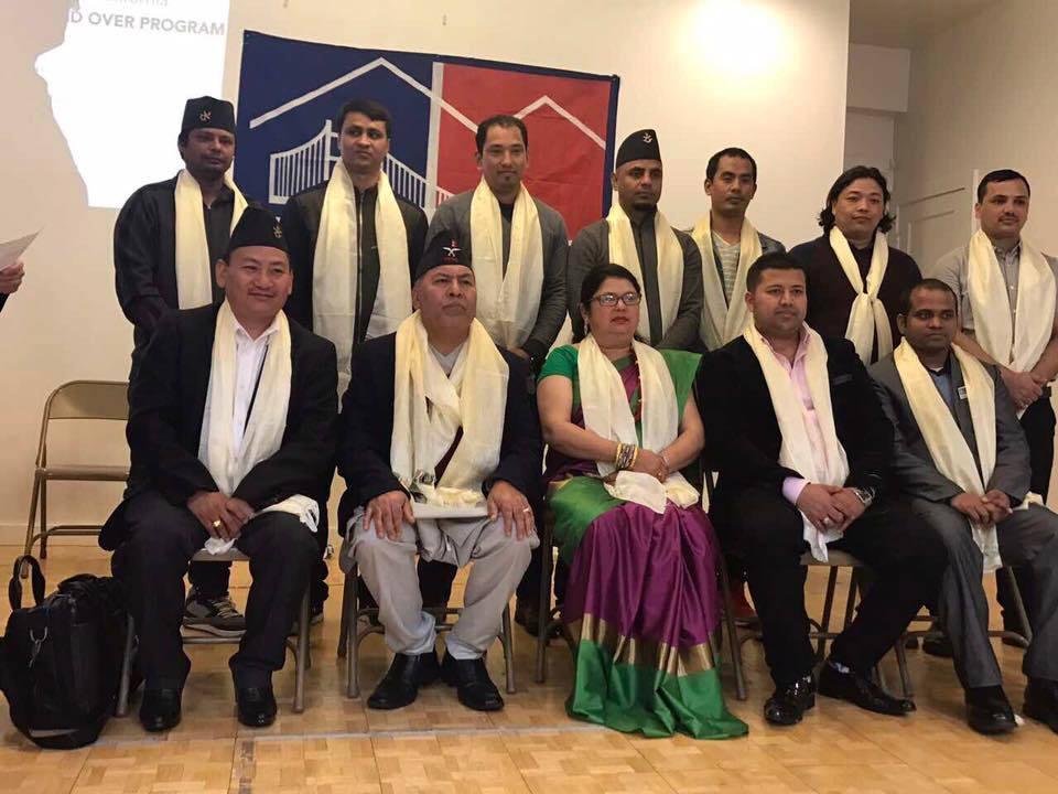 नेपाली एसोसियसन अफ नर्दन क्यालीफोर्नियाको नयां नेतृत्व सर्बसम्मत
