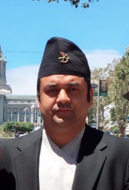 एनआरएन अमेरिका क्यालिफोर्निया च्याप्टर सचिव उम्मेदवार :रोशन अधिकारी