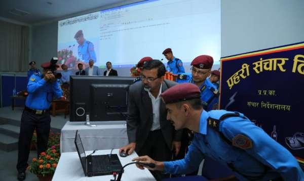 नेपाल प्रहरीले भित्र्यायो इन्टरनेट बिना इमेल पठाउन सकिने प्रविधि