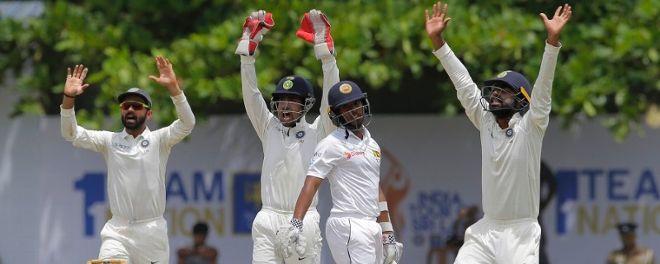 श्रीलंकासँग पहिलो टेष्टमा भारत ३०४ रनले विजयी