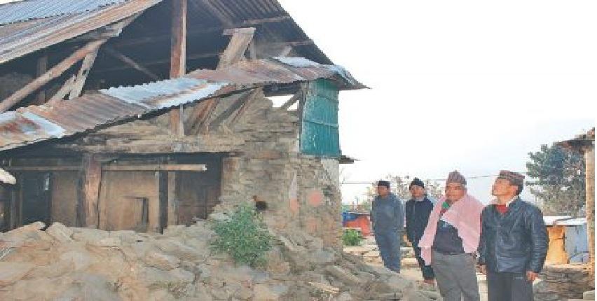 बझाङमा भुकम्प, क्षतिको विवरण आउन बाँकी