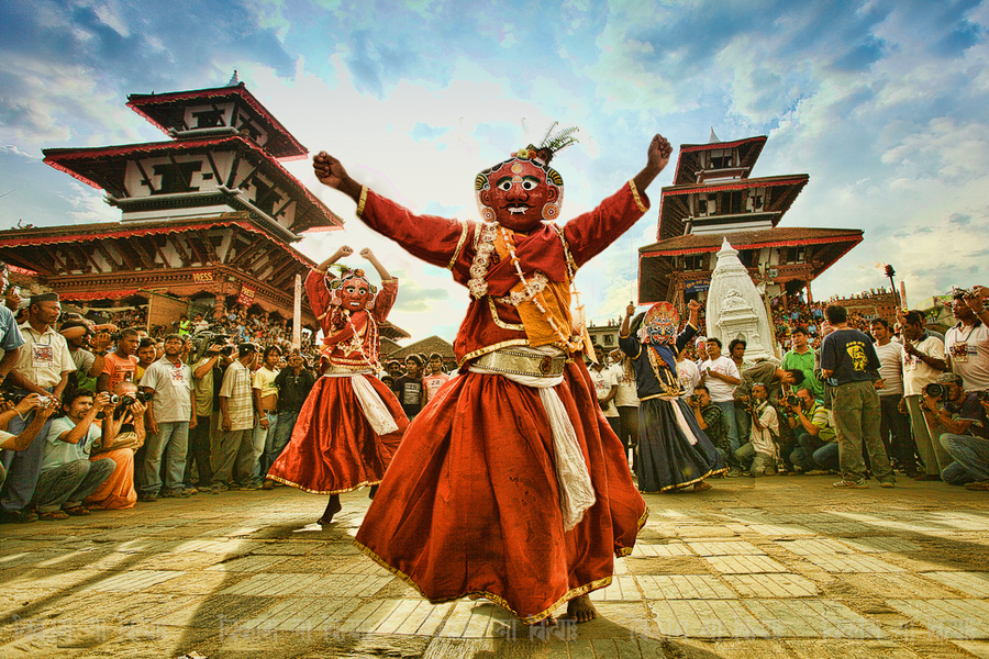 आज इन्द्रजात्रा, वर्षा र सहकालका देवता इन्द्रको पूजा–आराधना गरी मनाईंदै