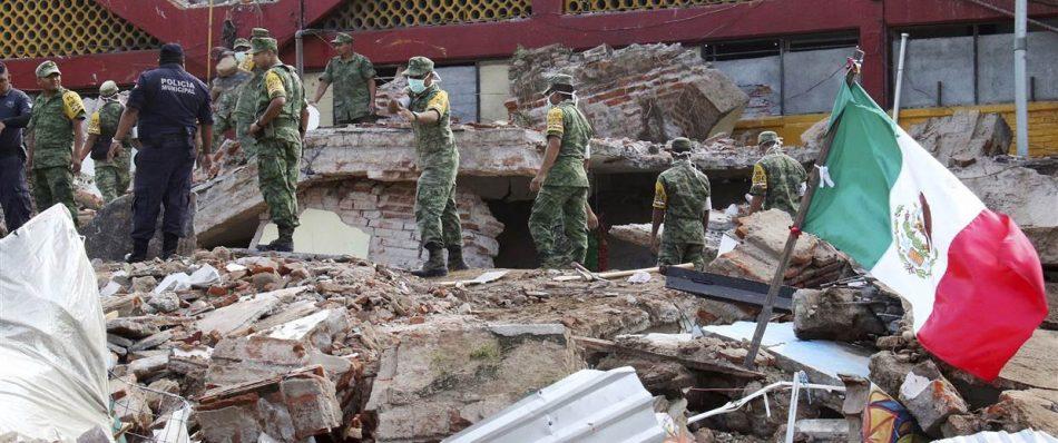 मेक्सिको भूकम्पमा मृत्यु हुनेको सङ्ख्या ९० पुग्यो
