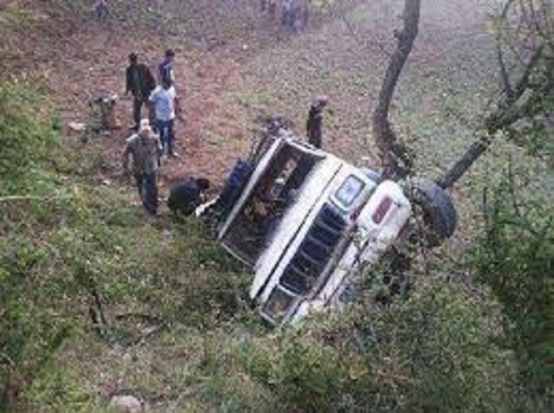 कालिकोटमा जिप दुर्घटना हुँदा तीनजनाको घटनास्थलमा नै मृत्यु, ६ घाइते