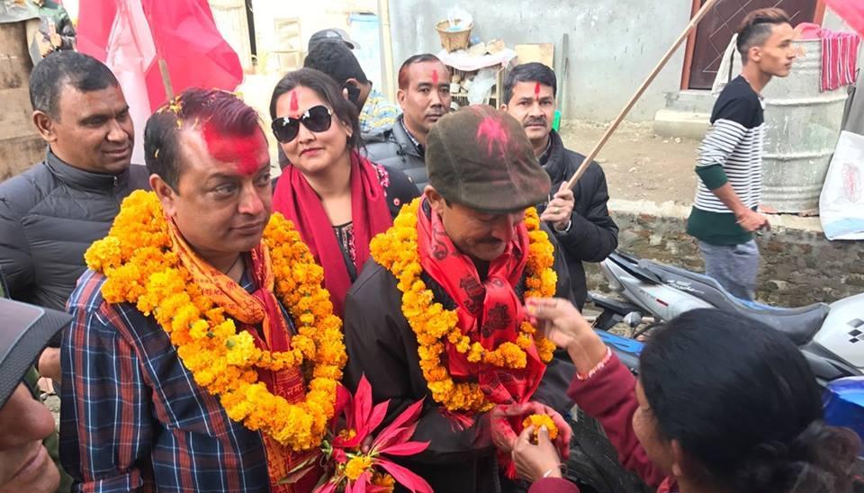 काठमाडौं ४ मा राजन भट्टराईलाई हराउदै गगन थापा विजयी