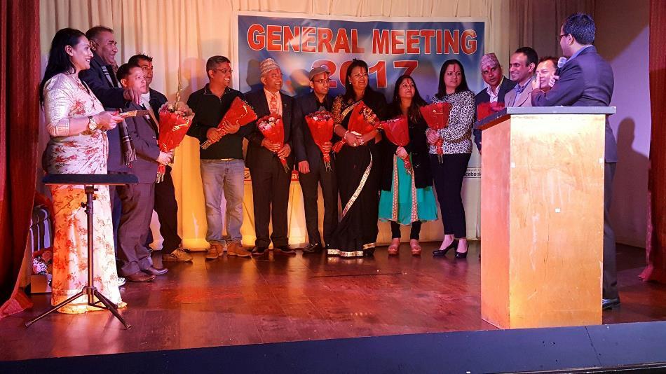 नेपाल अमेरिका एकता समाजको साधारण सभा सम्पन्न