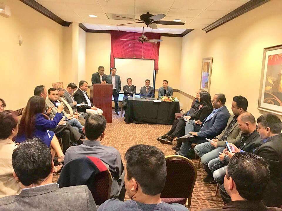 एनआरएन अमेरिकाको बैठक, १०० दिनको समिक्षाका साथ विविध निर्णयका साथ सम्पन्न