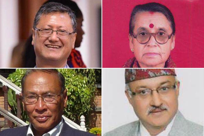 चार स्रष्टालाई बाशु शशी साहित्य पुरस्कार तथा सम्मान