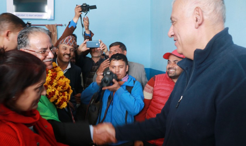 एमाले-माओवादी पार्टी एकतामा कांग्रेस महामन्त्री कोईरालाको बधाई