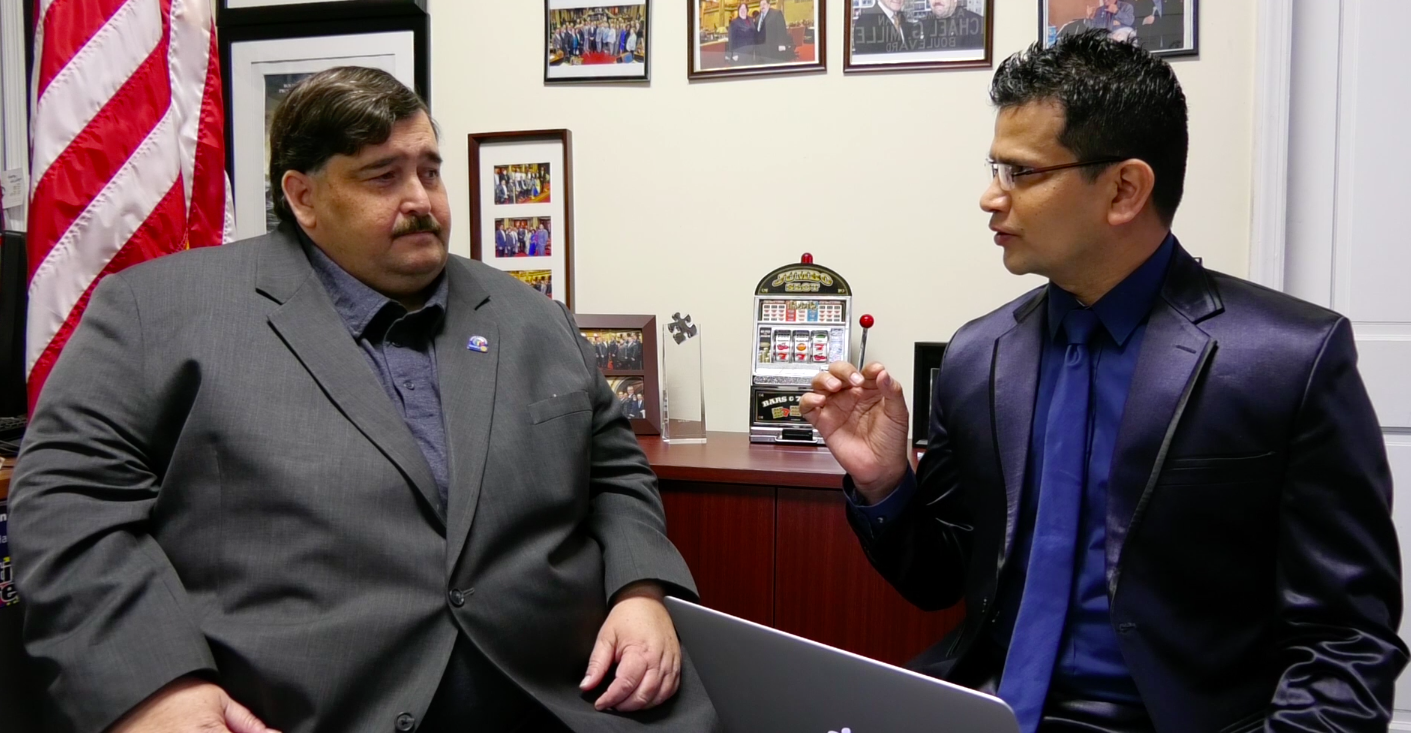 Journalist Kiran Marahatta's Interview with New York Assemblyman, Mike Miller (with video)