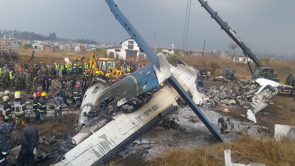 दुर्घटनाग्रस्त विमानमा ३३ नेपाली सवार, कतिको ज्यान गयो !