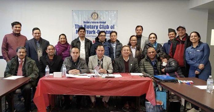 रोटरी क्लव अफ क्विन्सद्धारा विभिन्न समितिहरु गठन गर्दै लम्कियो काममा