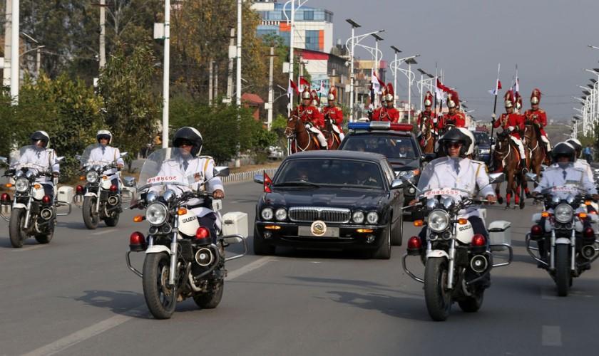 शाहीकाल सम्झाउने राष्ट्रपतिको सवारी (फोटो फिचर)
