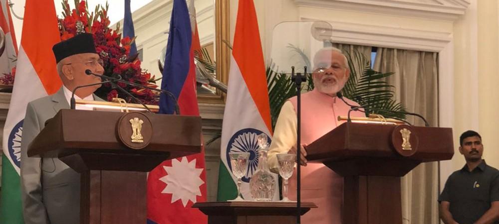 काठमाडौँ-भारत रेलमार्ग निर्माणमा सहमति : मोदी