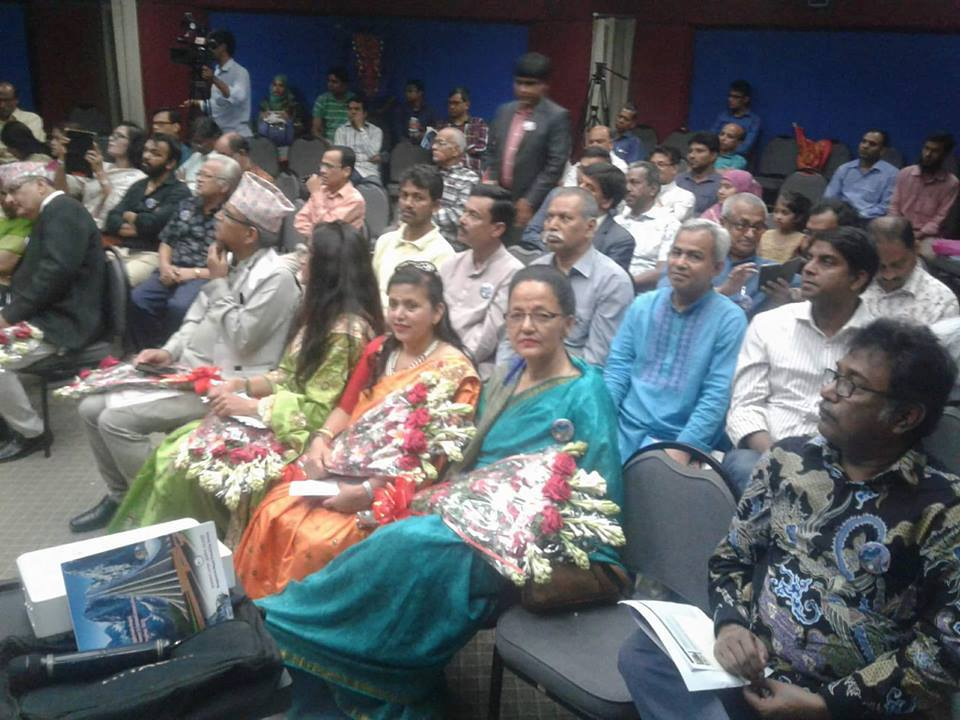 बंगलादेशमा कार्यक्रम गरी नेपाल स्रष्टा समाजको साहित्यिक टोली स्वदेश फिर्ता