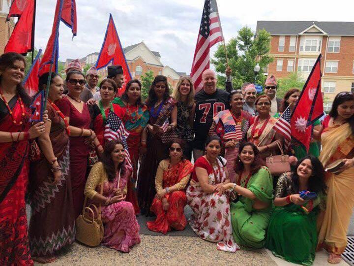 भर्जिनियामा नेपाल चिनाउने झॉकी, नेपाली र अमेरिकीहरुको सहभागिता