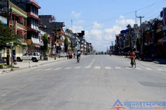 गण्डकी प्रदेश बन्द : राजधानीलगायत ११ वटै जिल्लाकाे जनजीवन कष्टकर
