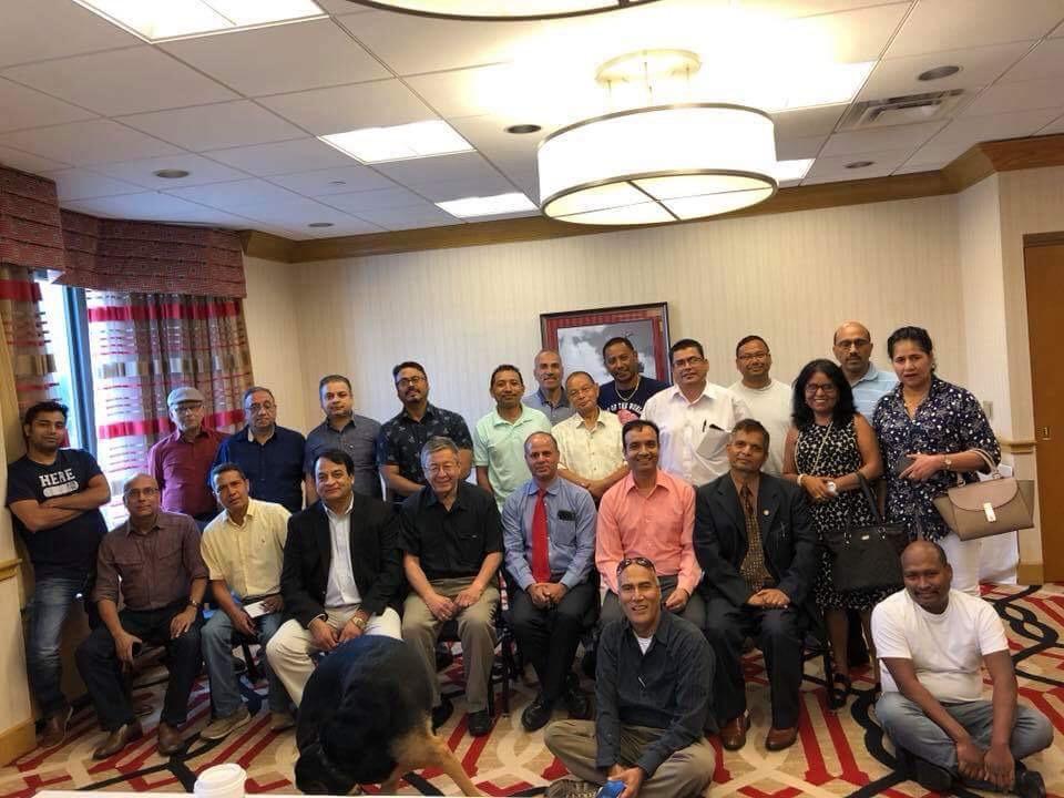 नेपाली नेशनल कन्भेन्शन, शिकागोको तयारी पुरा