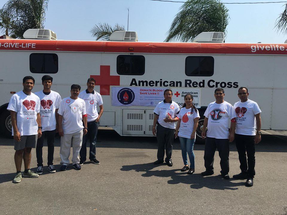 ब्लड डोनर्स अफ अमेरिका, क्यालिफोर्नियाको आयोजनामा लस एन्जलसमा ' रक्तदान' कार्यक्रम सम्पन्न (फोटो फिचर)