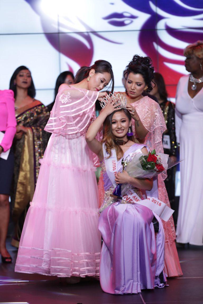 मोनिका घले, मिस नेपाल नर्थ अमेरिका २०१८ की विजेता