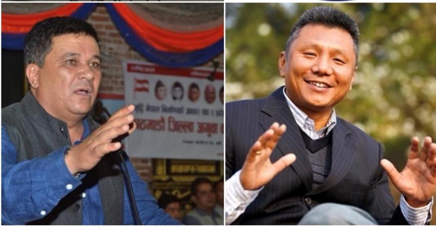 कांग्रेस केन्द्रिय सदस्य गुरुङ्ग र काठमाडौं सभापति बानियां अमेरिकामा