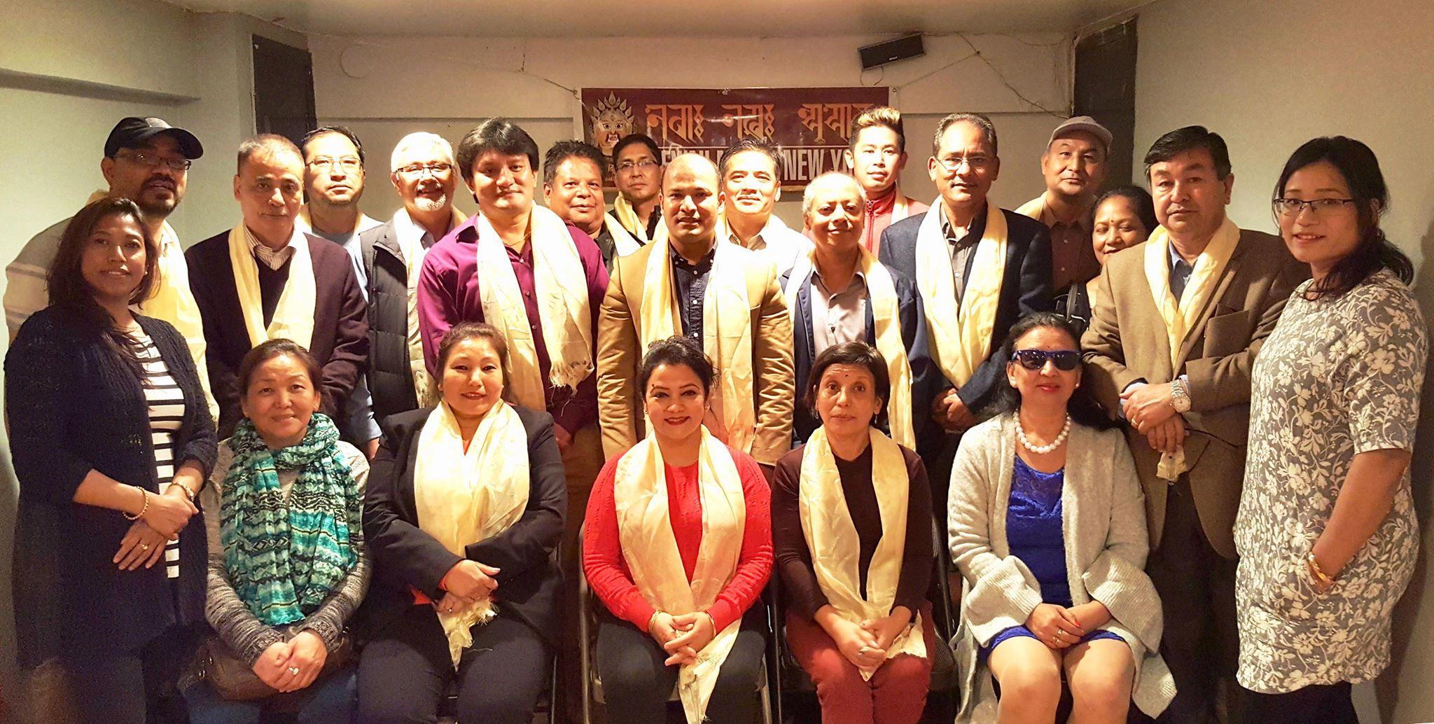 नेवा: नख: न्यूयोर्कको दोस्रो अधिवेशनबाट बिष्णुमान प्रधान निर्वाचित