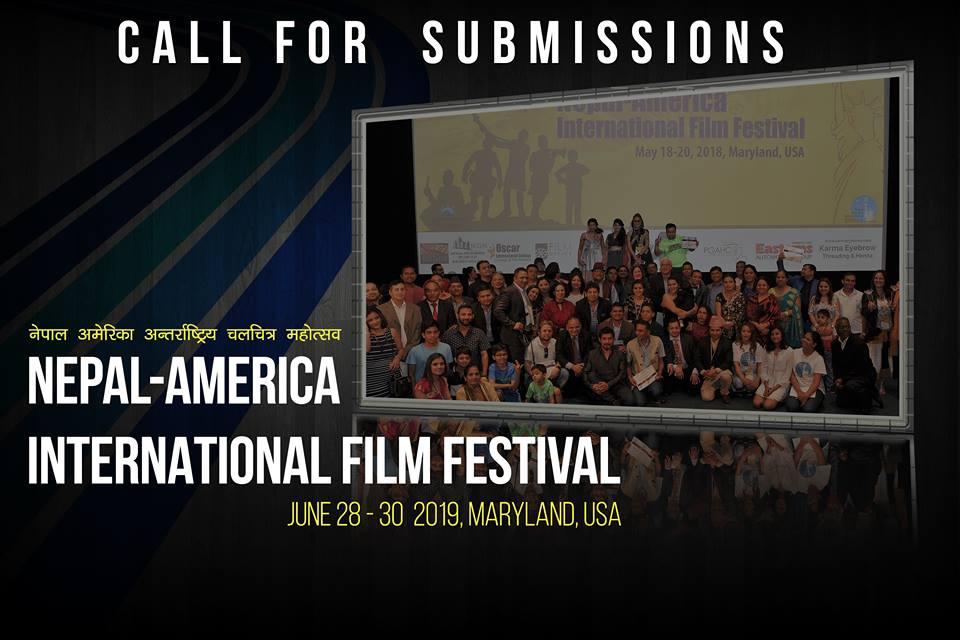 तेस्रो नेपाल-अमेरिका अन्तराष्ट्रिय चलचित्र महोत्सवको २०१९ जुन २८-३०
