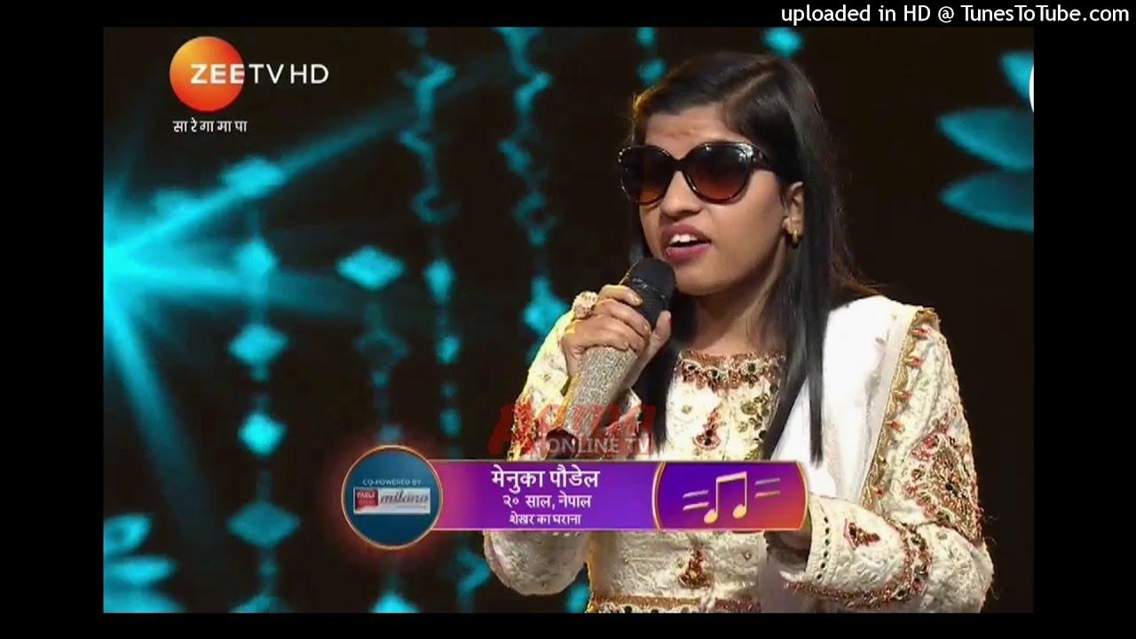 भारतीय संगीतमा मेनुकाको महायात्रा : सारेगमपाको टप तेह्रमा (भिडियो)