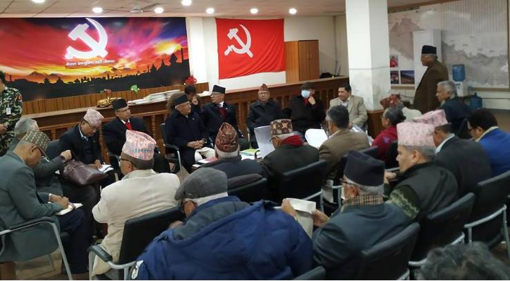 नेकपा स्थायी समिति बैठकमा छलफल भईरहेका विषयहरु