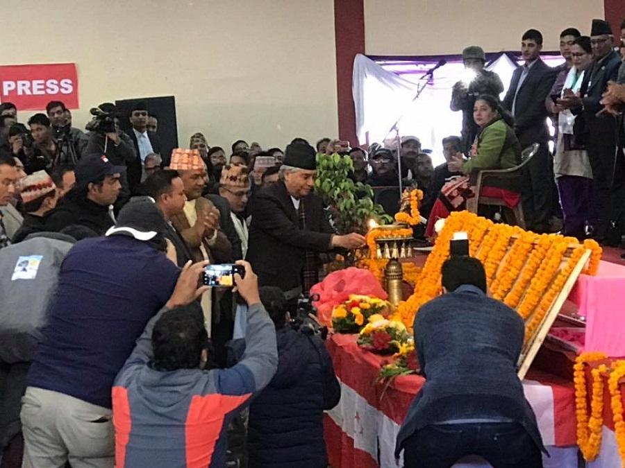 नेपाली कांग्रेसको महासमिति बैठक शुरु