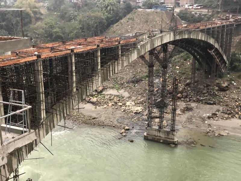 मुग्लिनमा नेपालकै दोस्रो 'आर्क ब्रिज', वैशाख १ गते सञ्चालनमा आउने