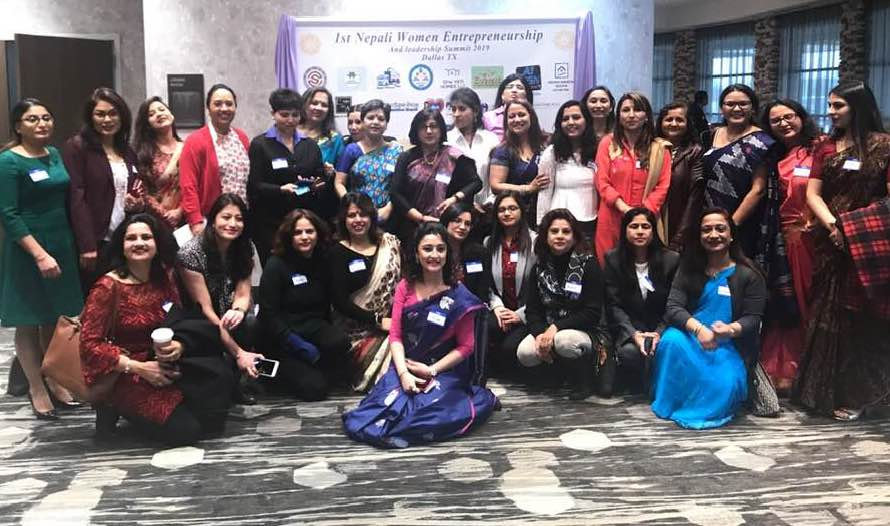 टेक्सासमा अमेरिकामा रहेका अगुवा नेपाली महिलाको सम्मेलन सम्पन्न