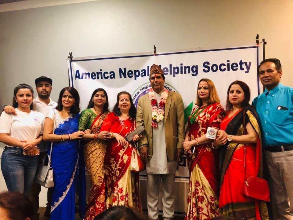 भर्जिनियामा नेपाल अमेरिका सहयोगी समाजको नयाँ कार्यसमिती