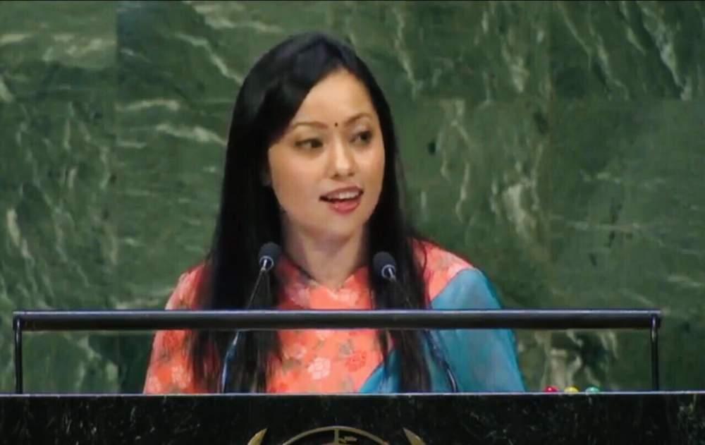 संयुक्त राष्ट्रसंघको ७३औं अधिवेसनमा नेपाली चेली जोली अमात्यको दमदार सम्बोधन – भिडियो सहित