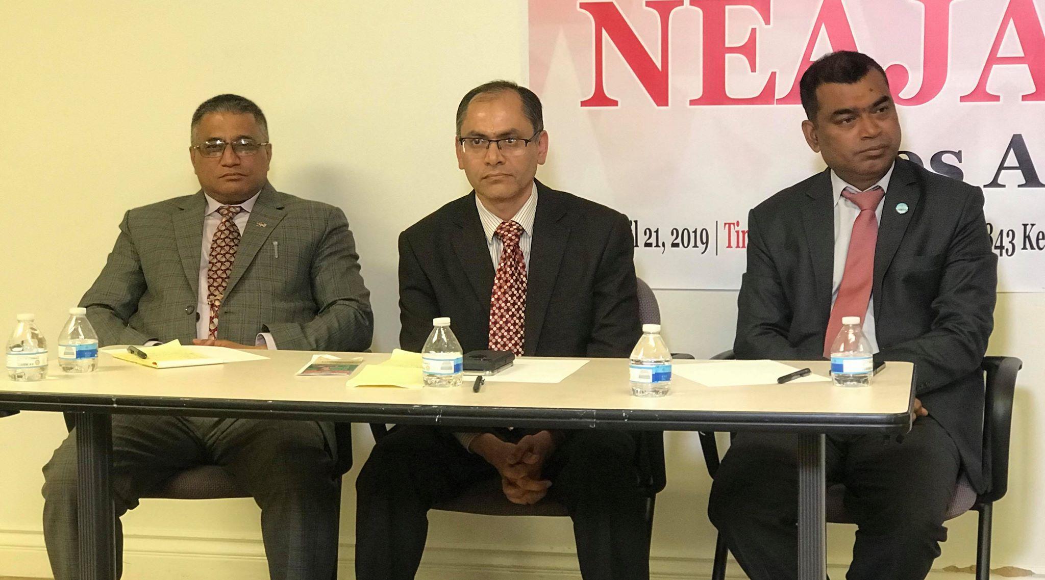नेजा – एनआरएन अमेरिका बहस – २०१९ को दोस्रो कार्यक्रम लस एन्जलसमा सम्पन्न