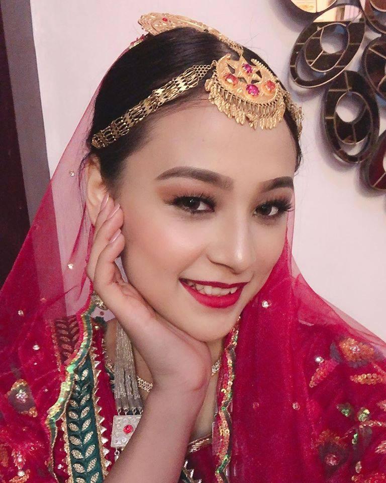 मिस नेपाल क्यालिफोर्निया रोज लामा – मिस नेपाल २०१९ मा प्रतिस्पर्धा गर्दै