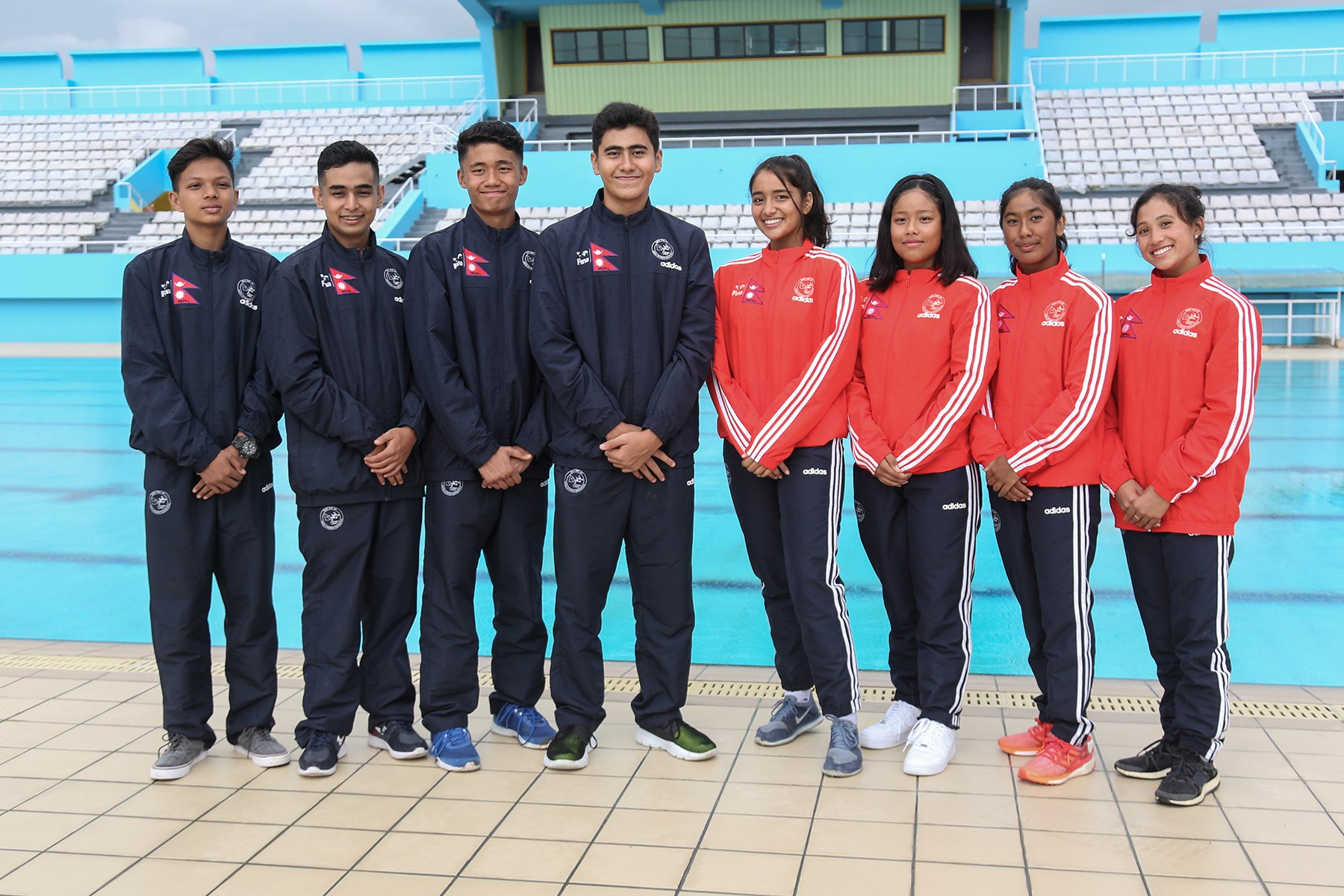 विश्व जुनियर पौडी प्रतियोगितामा दुई नेपाली खेलाडीद्धारा राष्ट्रिय कीर्तिमान