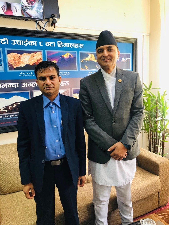 The Himalayan Expo has the full support of the government – Tourism Minister Bhattarai