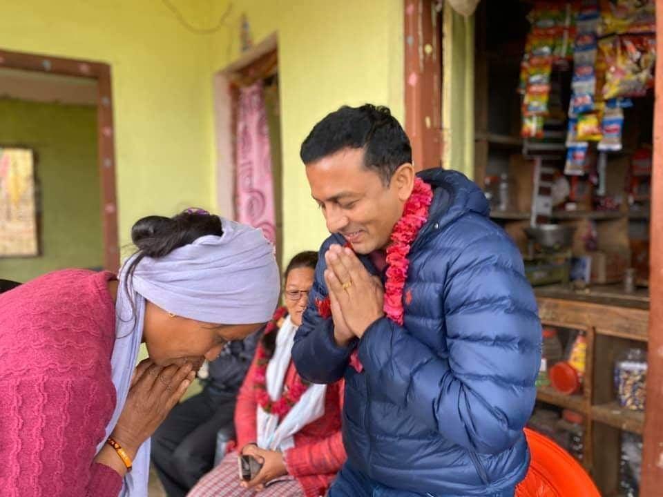 एनआरएनए अमेरिकाका उपाध्यक्ष पन्तद्वारा सल्यानमा 'एक एनसिसी, एक च्यारिटी प्रोजेक्ट'को शुरुवात