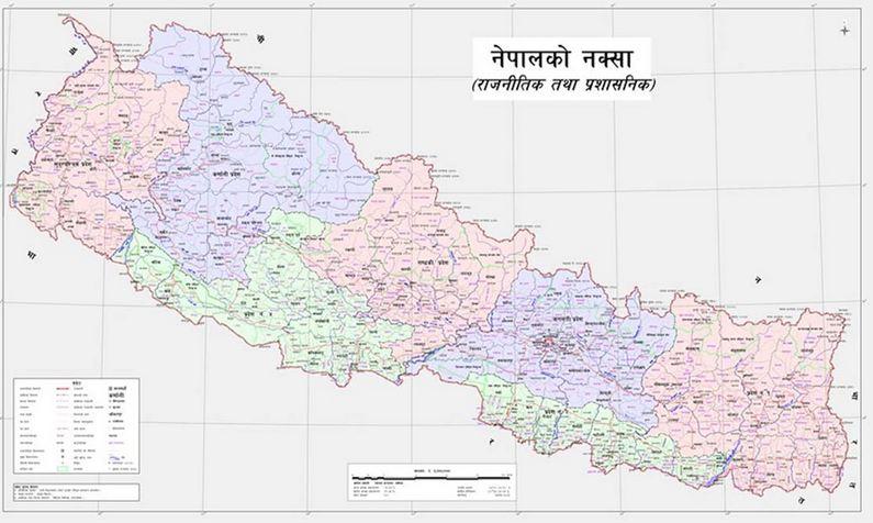 नेपाल सरकारद्वारा लिम्पियाधुरा, कालापानी, लिपुलेक सहित नेपालको नयाँ नक्सा सार्वजनिक