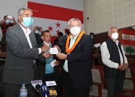 पूर्वमन्त्री सुनिल बहादुर थापा नेपाली कांग्रेसमा प्रवेश