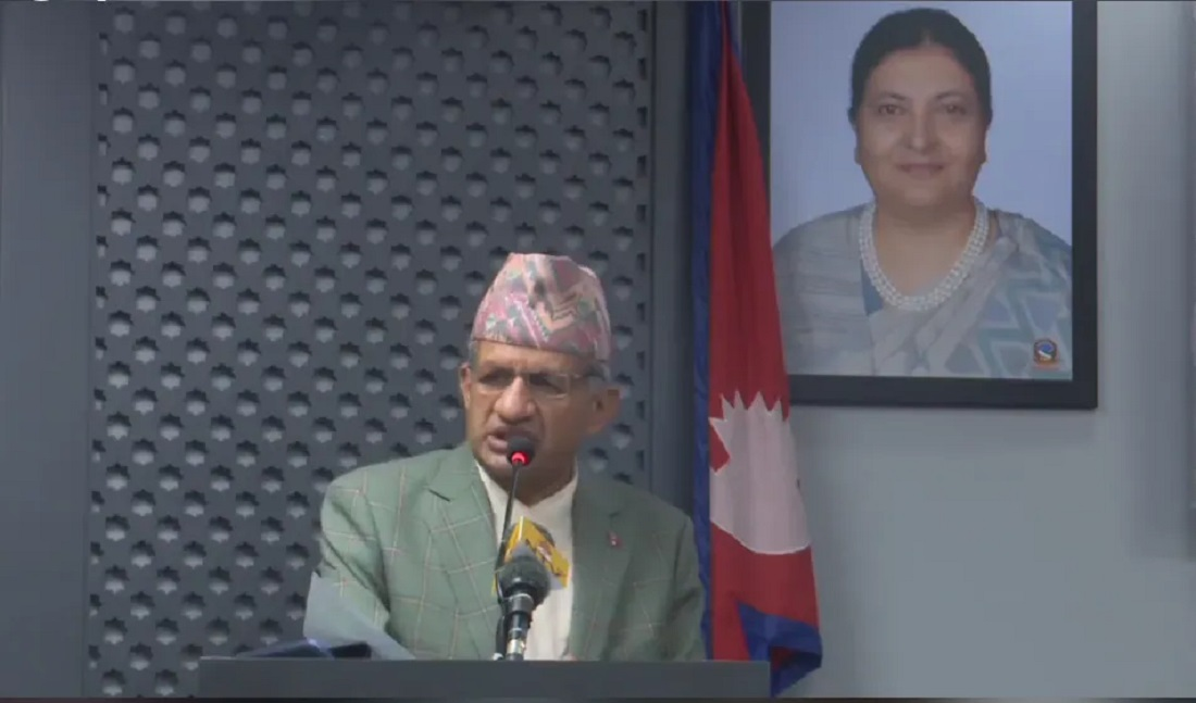 नेपाल–चीन सीमा क्षेत्रमा कुनै समस्या छैन :परराष्ट्रमन्त्री  ज्ञवाली