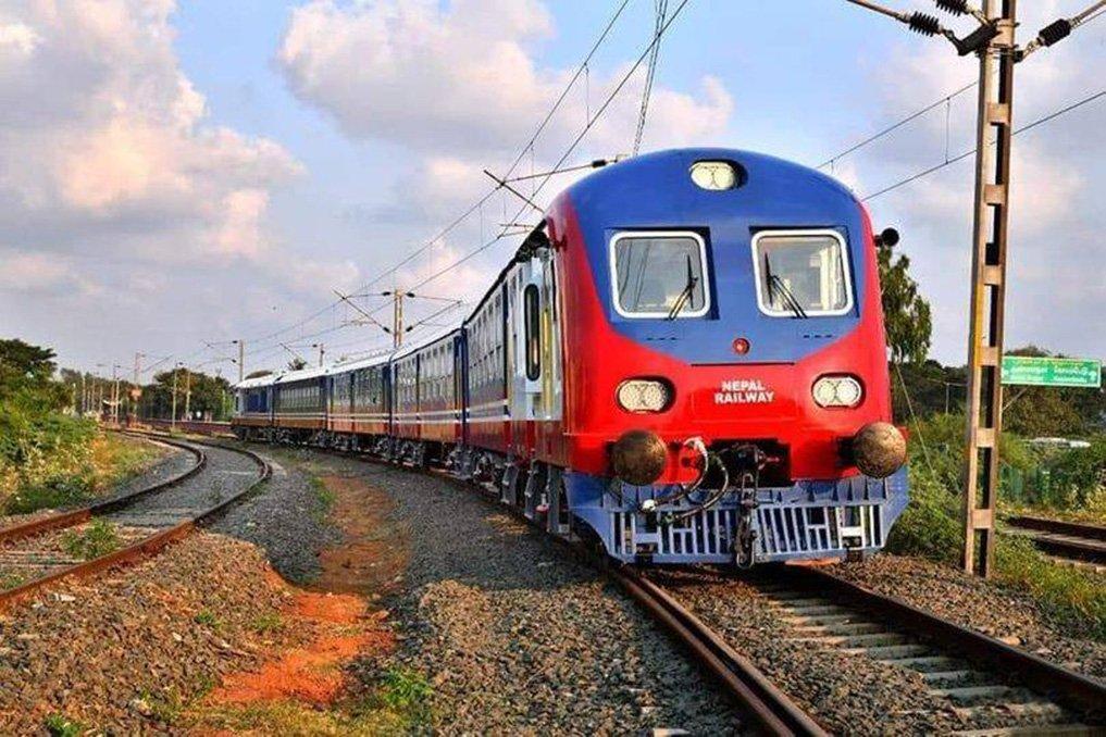 जयनगर वाट रेल  जनकपुर   आईपुग्यो