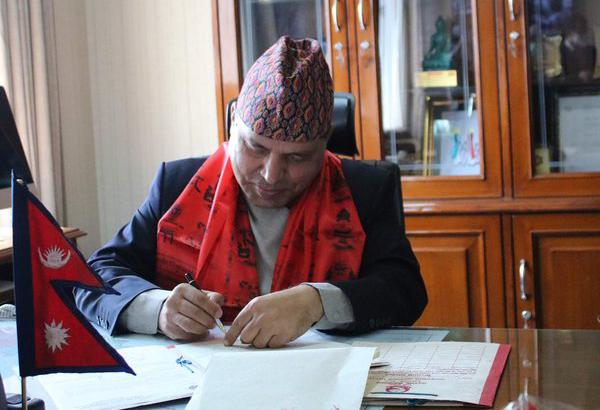 भरत पौडेल बने परराष्ट्र मन्त्रालयका सचिव