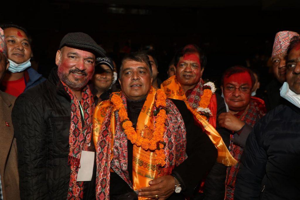 नेपाल उद्योग वाणिज्य महासङ्घको वरिष्ठ उपाध्यक्षमा चन्द्रप्रसाद ढकाल निर्वाचित