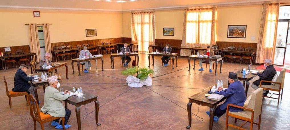 नेकपाको सचिवालय बैठक भोलि  बस्दै , अध्यक्ष ओलीले राजनीतिक प्रस्ताव पेश गर्ने