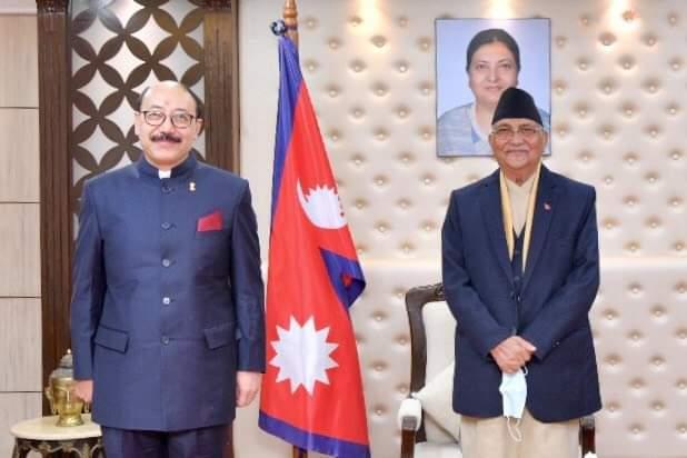 काठमाडौं आएका भारतीय विदेश सचिव श्रींगला राजनीतिक भेटवार्तामा ब्यस्त