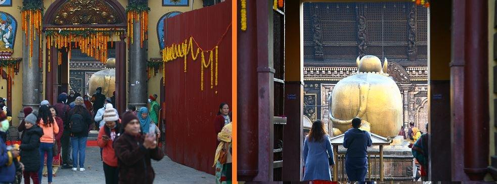 पशुपतिनाथ मन्दिर नौ महिनापछि पूर्णरुपमा खुल्ला