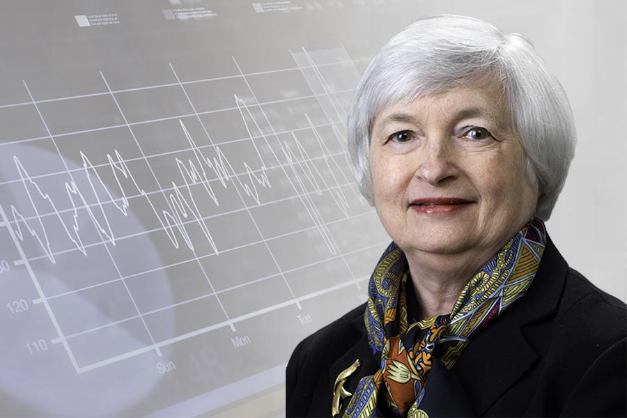 अमेरिकी अर्थमन्त्रीको पद सम्हाल्ने पहिलो महिला  जेनेट येलेन