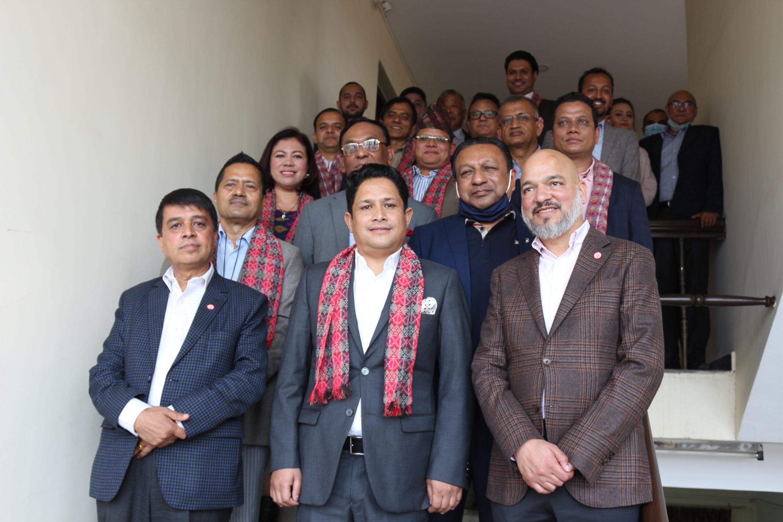 नेपाल उद्योग वाणिज्य महासंघद्दारा गैरआवासीय नेपाली समन्वय फोरम विस्तार